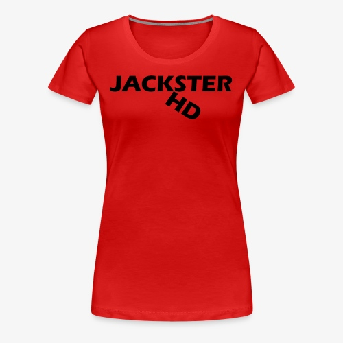jacksterHD shirt design - Women's Premium T-Shirt