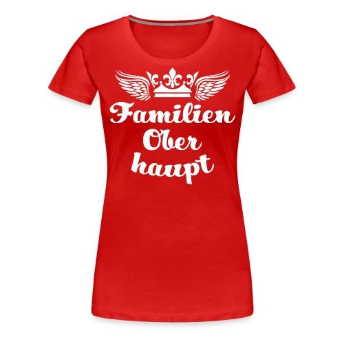 45 Familien Oberhaupt Krone Flügel - Frauen Premium T-Shirt