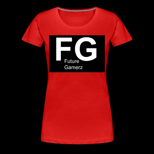 FG lofo boxed black boxed - Women's Premium T-Shirt