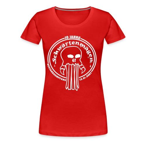 Schwartenmagen Girli in Blut rot - Frauen Premium T-Shirt