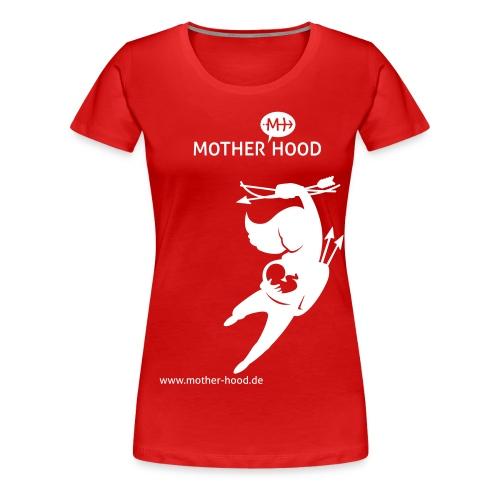 MotherHood_Powermum - Frauen Premium T-Shirt