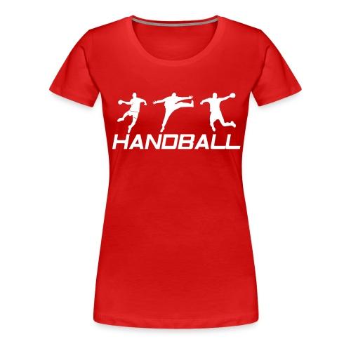 Handball Ailier Gardien Arrière - T-shirt Premium Femme