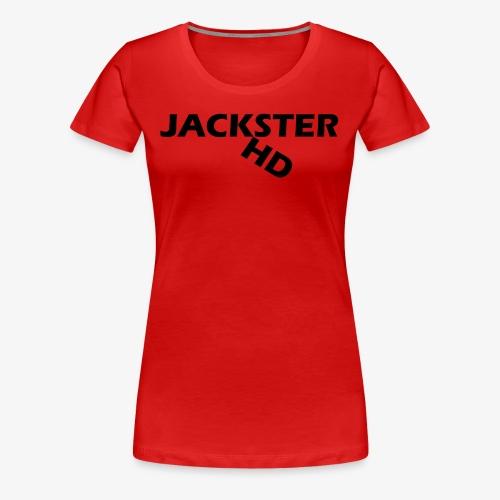 jacksterHD shirt design - Women's Premium T-Shirt