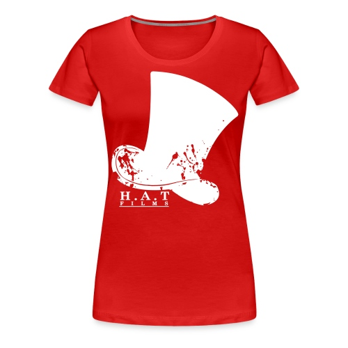 hat design 3 transparent splodges3 - Women's Premium T-Shirt