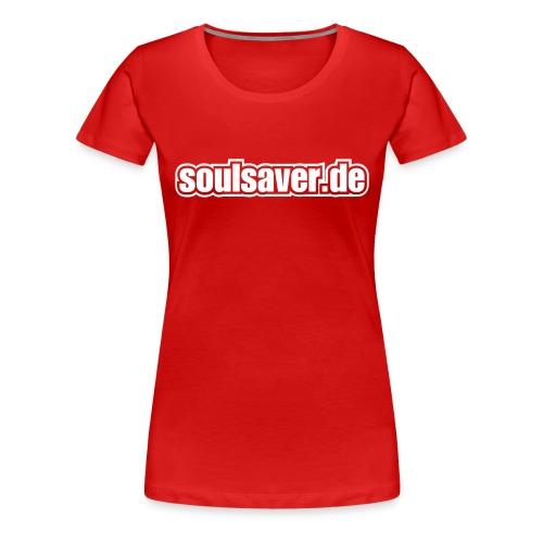 soulsaverlogo blackonly - Frauen Premium T-Shirt
