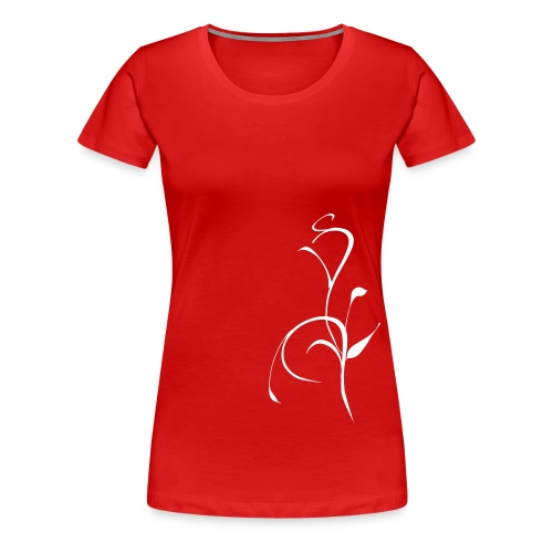 compo florale1 - T-shirt Premium Femme