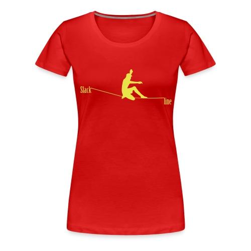 Slackline - T-shirt Premium Femme