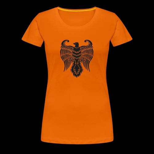 HAUKKA ei tekstia - Naisten premium t-paita