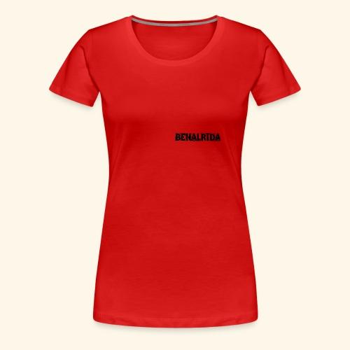 BenalRida HD black png - Camiseta premium mujer