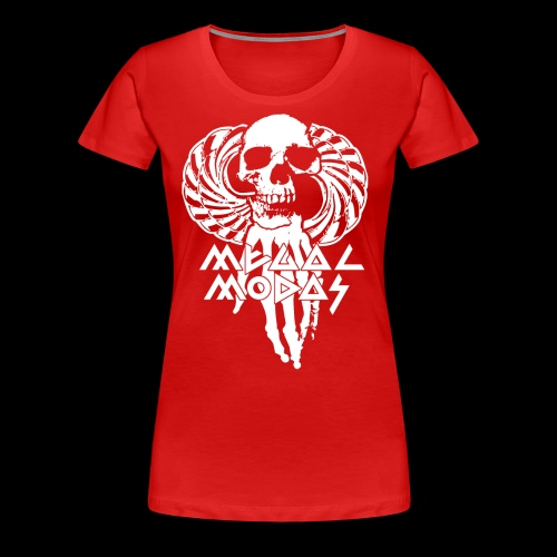 MEGALMODAS Design by Lock and Load - Frauen Premium T-Shirt