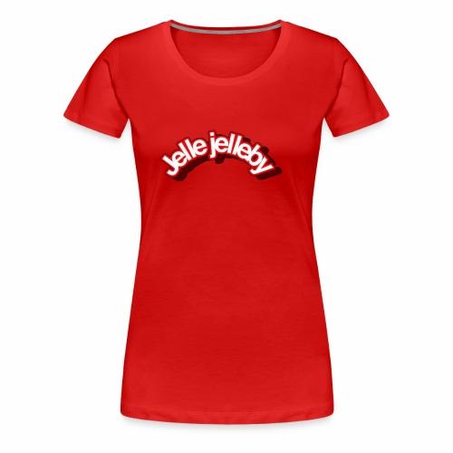 JELLE JELLEBY MERCH🔥 - T-shirt Premium Femme