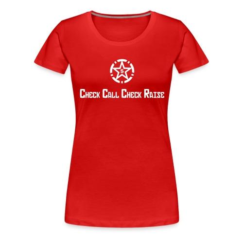 texte cccr v3 - T-shirt Premium Femme