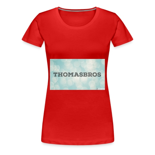 Thomasbros - Premium T-skjorte for kvinner