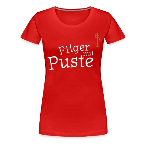 pilger mit puste ohne - Frauen Premium T-Shirt