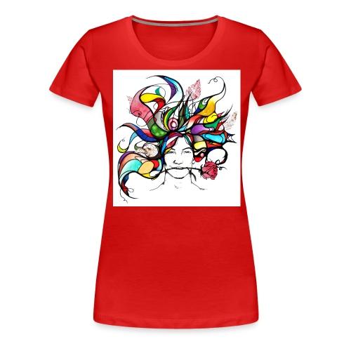 Haare - Frauen Premium T-Shirt