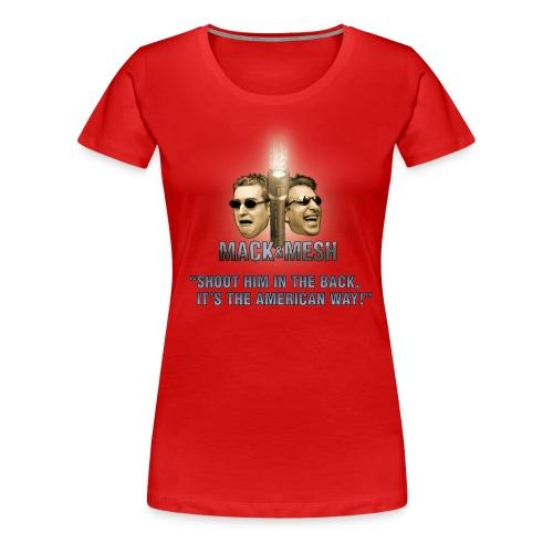 Season 9 AmericanWay - Women's Premium T-Shirt