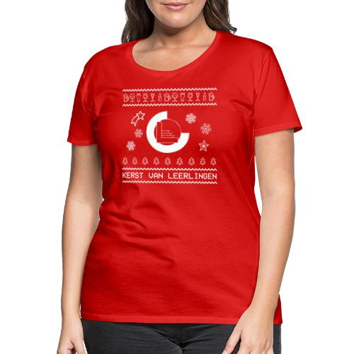 CvL Ugly Christmas Design - Vrouwen Premium T-shirt