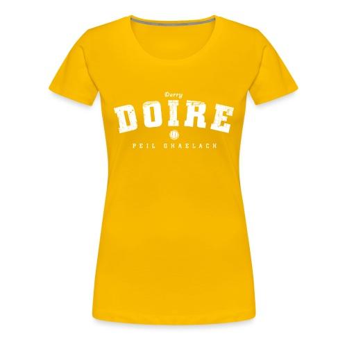 derry vintage - Women's Premium T-Shirt
