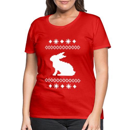 Norwegerhase hase kaninchen häschen bunny langohr - Frauen Premium T-Shirt