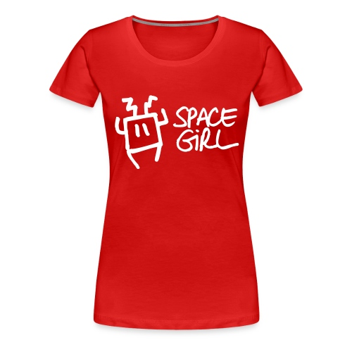 Space Girl - T-shirt Premium Femme