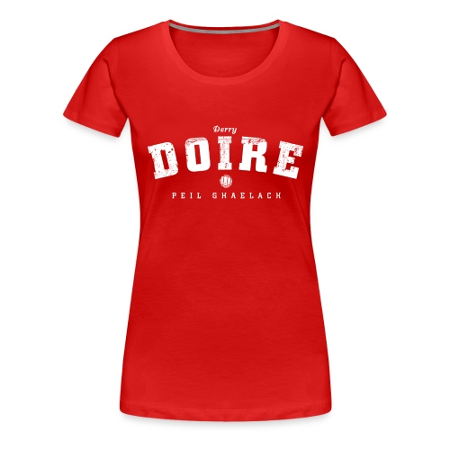 derry vintage - Women's Premium T-Shirt