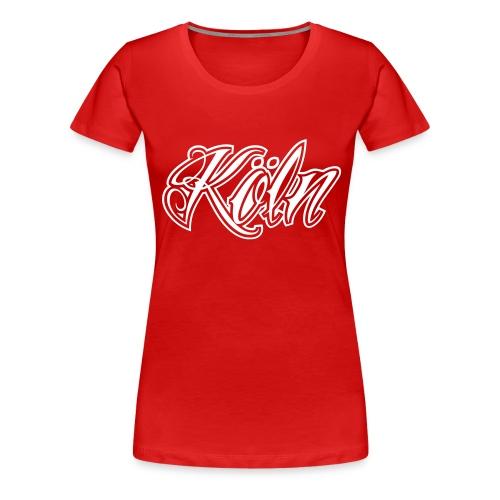 Koeln - Frauen Premium T-Shirt
