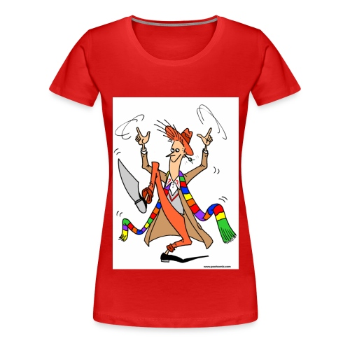 Desmond Hoo - Women's Premium T-Shirt