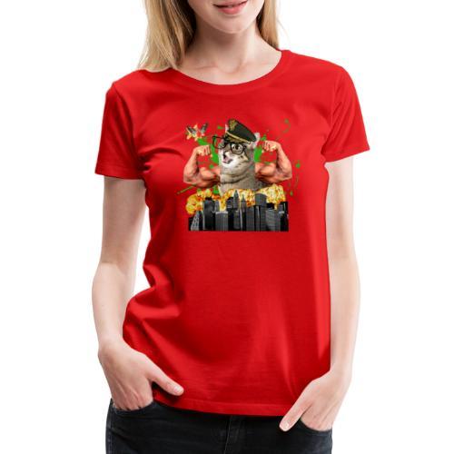psychocat - Vrouwen Premium T-shirt