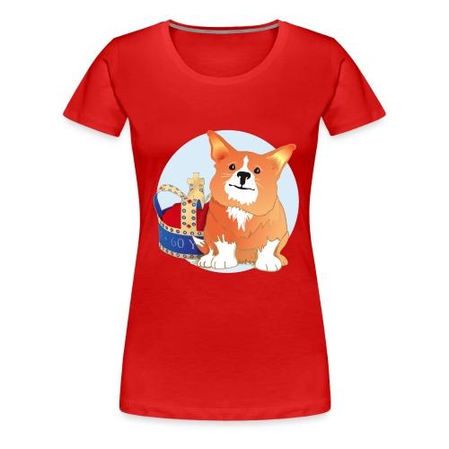 Royal Corgi - Women's Premium T-Shirt