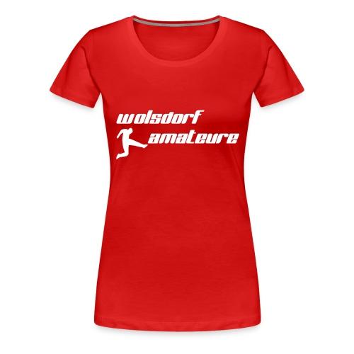 Wolsdorf Amateure - Frauen Premium T-Shirt