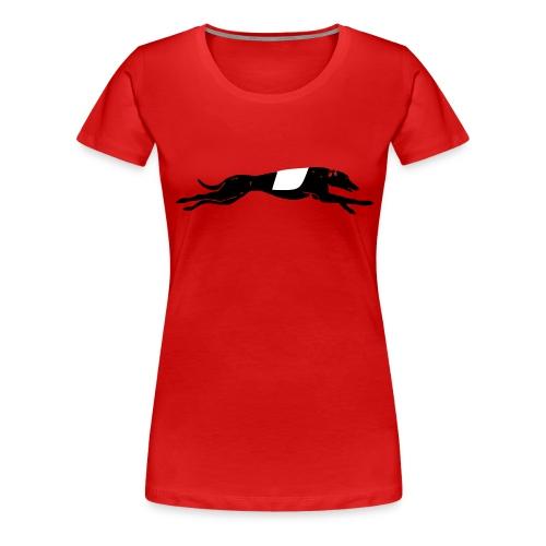Windhundrennen im Regen? Kein Problem mit dem - Frauen Premium T-Shirt