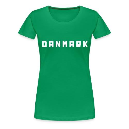 danmark - Dame premium T-shirt