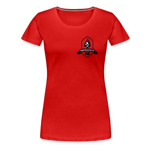 KampKookStaf kader - Vrouwen Premium T-shirt