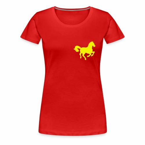 Petit cheval Hippocamp - T-shirt Premium Femme