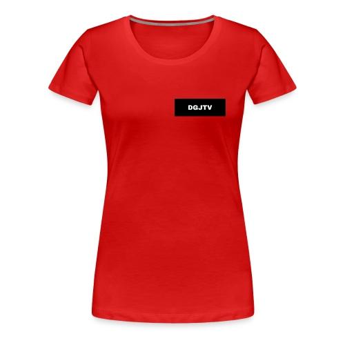 Logo DGJTV - Frauen Premium T-Shirt