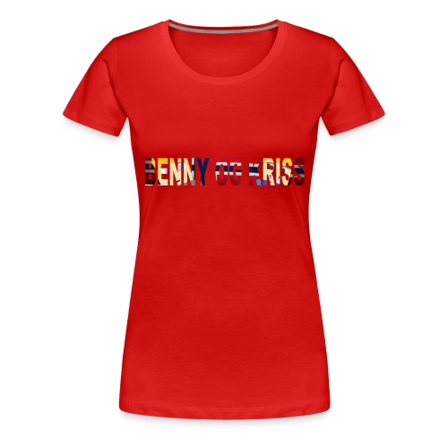 BennyOgKriss Orginal - Premium T-skjorte for kvinner