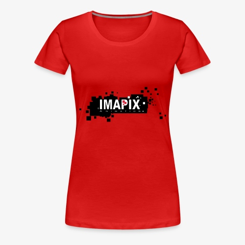 IMAPIX ANIMATION Rectro02 - T-shirt Premium Femme