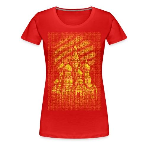 Russian Bricks - Women's Premium T-Shirt