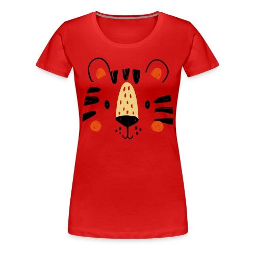 Tigre Mimi - T-shirt Premium Femme