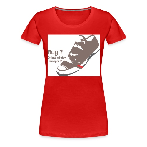 window_shopper - Women's Premium T-Shirt