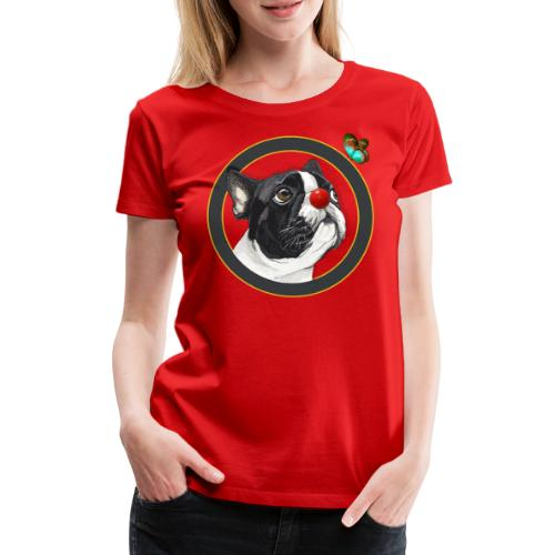 Chien - T-shirt Premium Femme