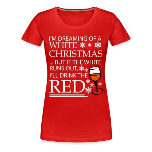 White Christmas - Women's Premium T-Shirt