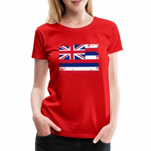 Hawaii flag textiles, Gifts and products for you - Naisten premium t-paita