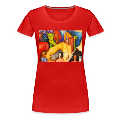 no_530 - Maglietta Premium da donna