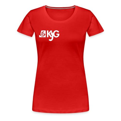 kjglogo 10 - Frauen Premium T-Shirt