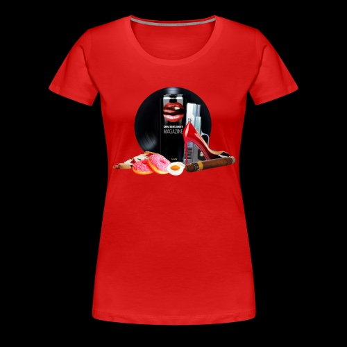 Luxury Energy Drink [Cyber Glam Collection] - T-shirt Premium Femme