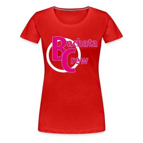 Bachata Crew Premium Tank Top Women Frontlogo - Frauen Premium T-Shirt