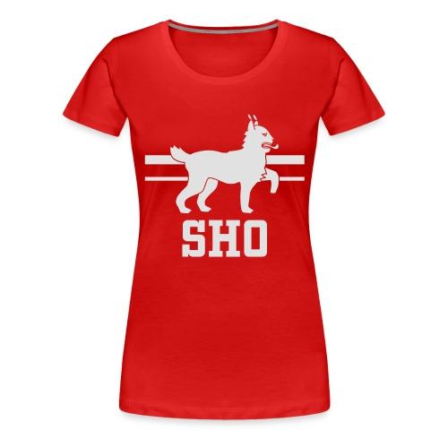 SHO Häme - Naisten premium t-paita