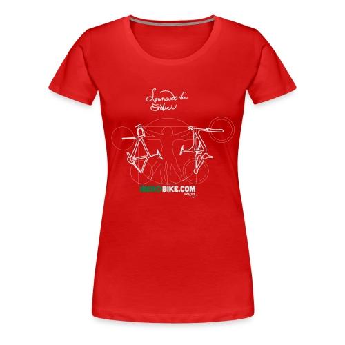Leonardo Va Envici - Camiseta premium mujer