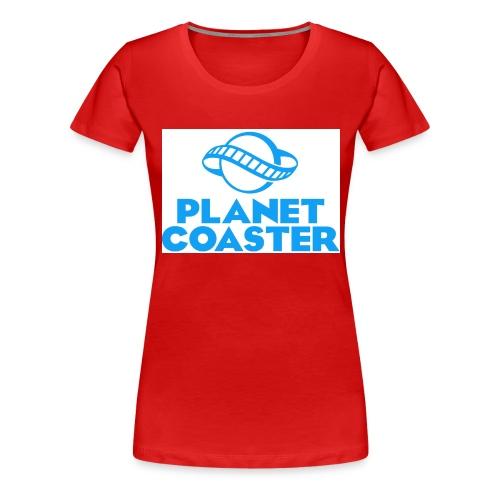 game planet coaster - Vrouwen Premium T-shirt